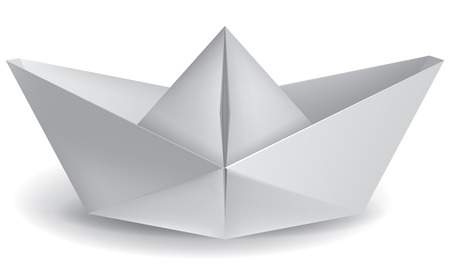 paper boat: small paper boat