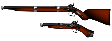 pistols: old rifles and pistols