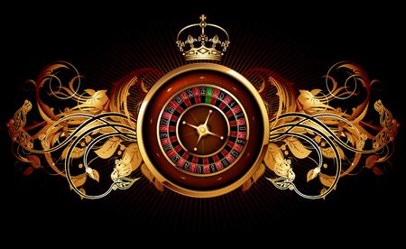 casino advertising design with a tape measure Reklamní fotografie - 77920090