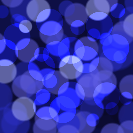 Abstract background of blue glare with the effect of transparency. Highly realistic illustration. Illustration