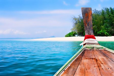 Daytrip with longtailboat around Phi Phi islands photo