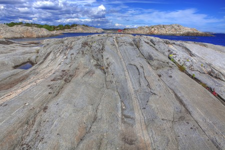 kristiansand: Beautiful landscape in southern Norway, Justoy, Lillesand