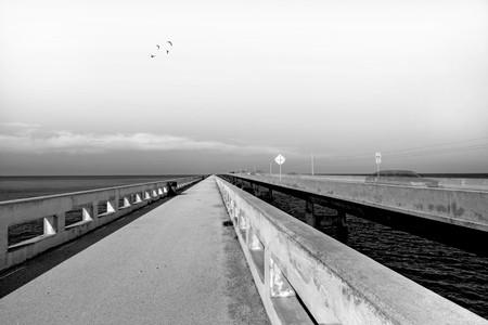 Old seven miles bridge to Key West photo