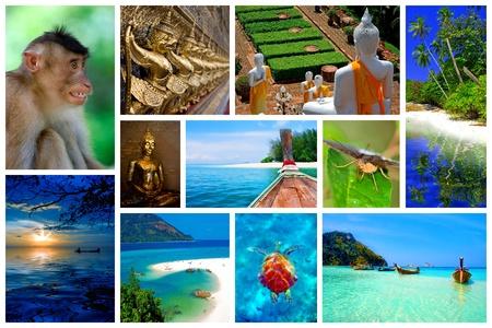 krabi: Collage di immagini dalla bellezza della Thailandia