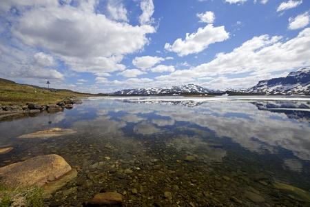 Haukeli in the summer Stock Photo - 9953663