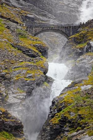 Trollstigen in Norway photo