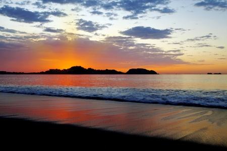costa rica: Sunset in Guanacaste
