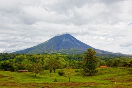 Volcano Arenal, Costa Rica Stock Photo
