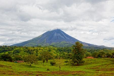 Wulkan Arenal, Kostaryka Zdjęcie Seryjne