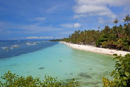 bohol: View of the beautiful beach on Panglao Island, Bohol