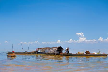 sap: The floating village on Tonle Sap lake