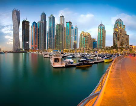property development: Dubai Marina