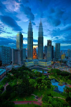 malaysia culture: Kuala Lumpur Skyline