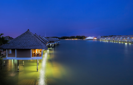seafront: Water villas