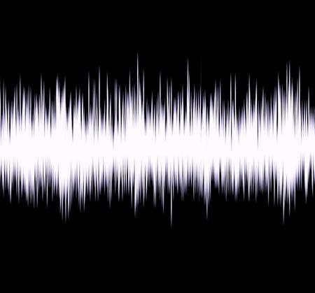 sismogr�fo: Ilustraci�n de la onda de radio Foto de archivo