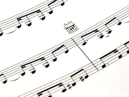 composing: Sheet music
