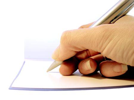 dictating: Tomar notas