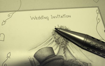 rsvp: Wedding invitation