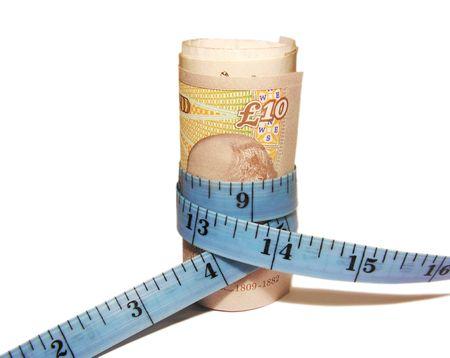 coin purses: Tighten the budget Stock Photo