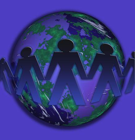 uniting: The world united
