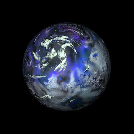 create: Digitale creato pianeta