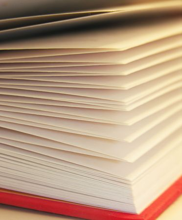 knowledgeable: Pages of a book Stock Photo