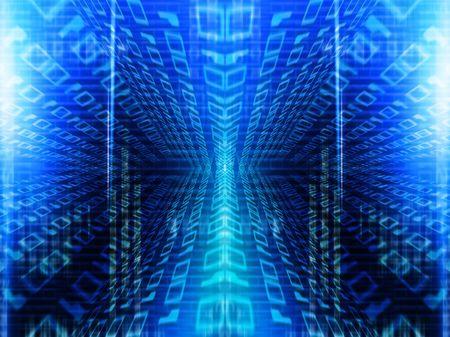 Binary code photo