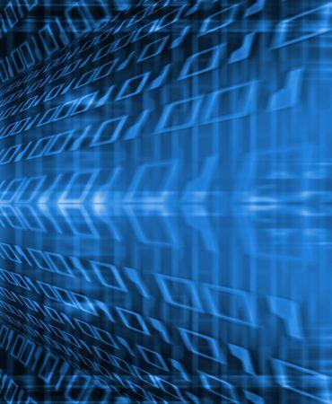 Binary flow photo