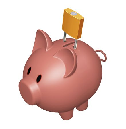 Financial security Stock Photo - 346424