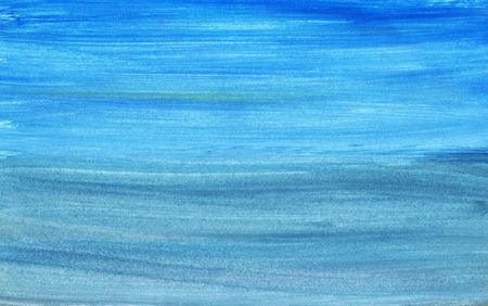 digital paint: Hand painted seascape