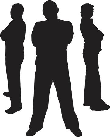 garde du corps: Protection - vecteur Illustration