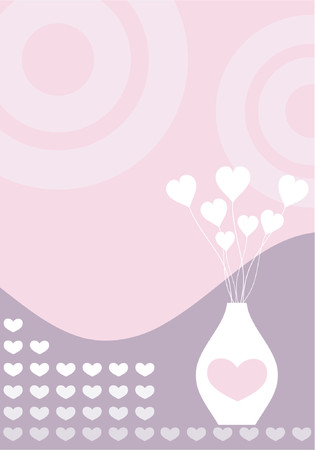 Retro love - vector Stock Vector - 418421