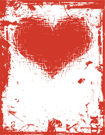 Grunge love - vector Stock Vector - 418973