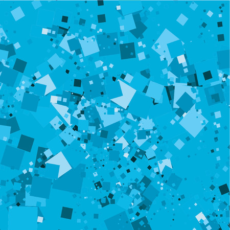 chaotic: Chaotic squares - vector