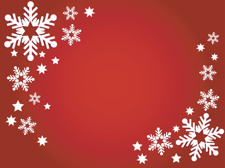 freeze: Christmas background - vector