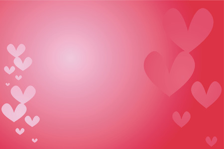 sexy hot couple: Heart background - vector