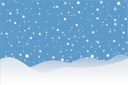 frieren: Schneesturm - Vector