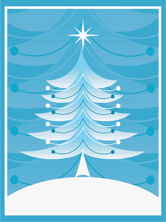 Retro Christmas - vector Vector