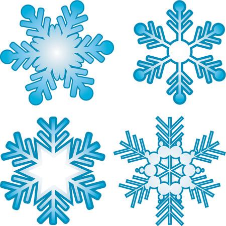 frieren: Schneeflocken - Vektor