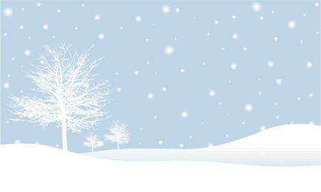 frieren: Winter Hintergrund - Vektor