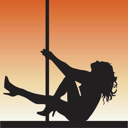 bailarinas: Polo bailar�n - vector
