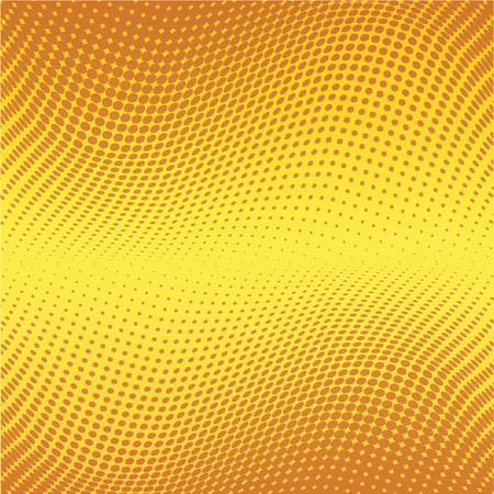 Halftone dots - vector Stock Vector - 441011