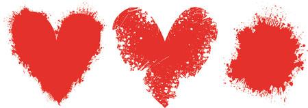 Grunge love - vector Stock Vector - 441004