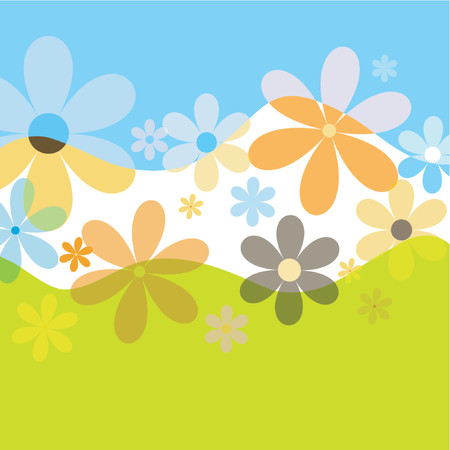 Spring flowers - vector Stock Vector - 441394