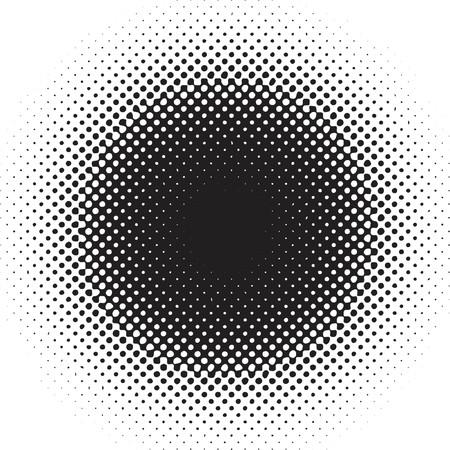 Dubbelkleurige punten - vector