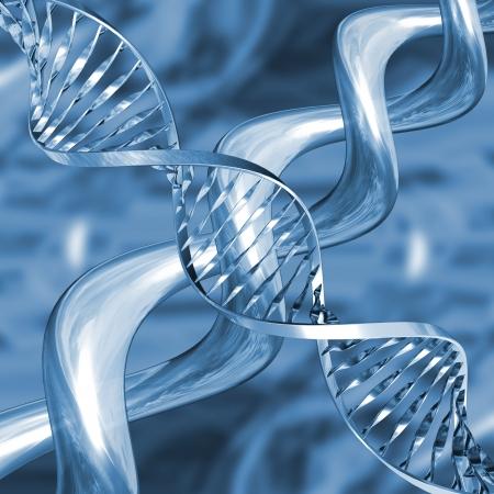 DNA strands Stock Photo - 466631