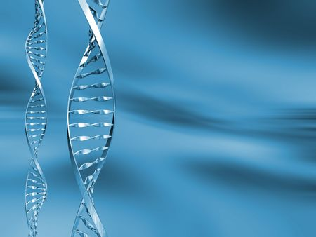 g�n�tique: Brins d'ADN  Banque d'images