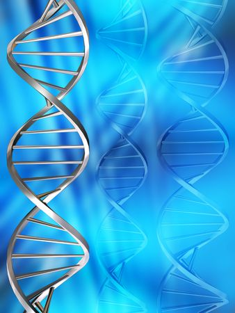 DNA strands Stock Photo - 466619