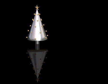 3D Christmas tree Stock Photo - 492678