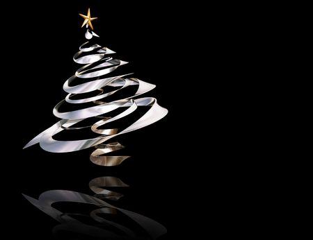 3D Christmas tree Stock Photo - 492674